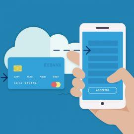 Pagamento com cartão de crédito em débito automático