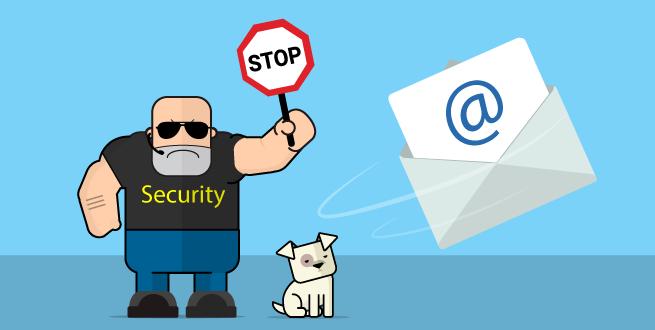 Regras de envio e recebimento de e-mails
