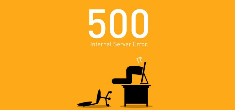 Erro 500 Internal Server Error